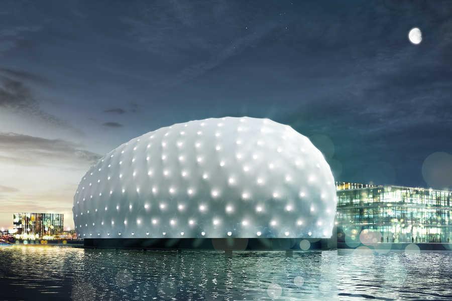 طراحی موزه زیر آب برای کشتی شکسته